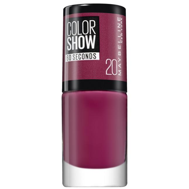 Maybelline New York ColorShow Nagellack 20 - blush berry