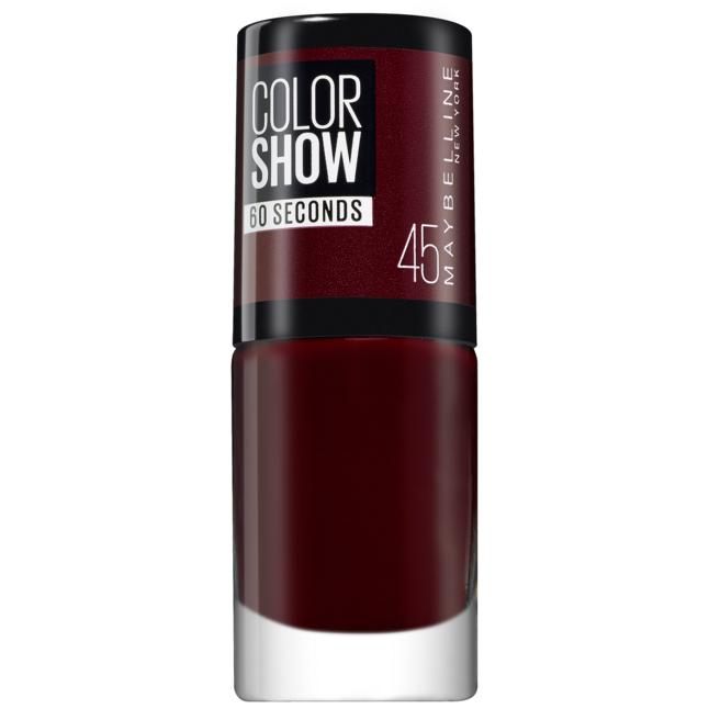 Maybelline New York ColorShow Nagellack 45 - cherry on the cake