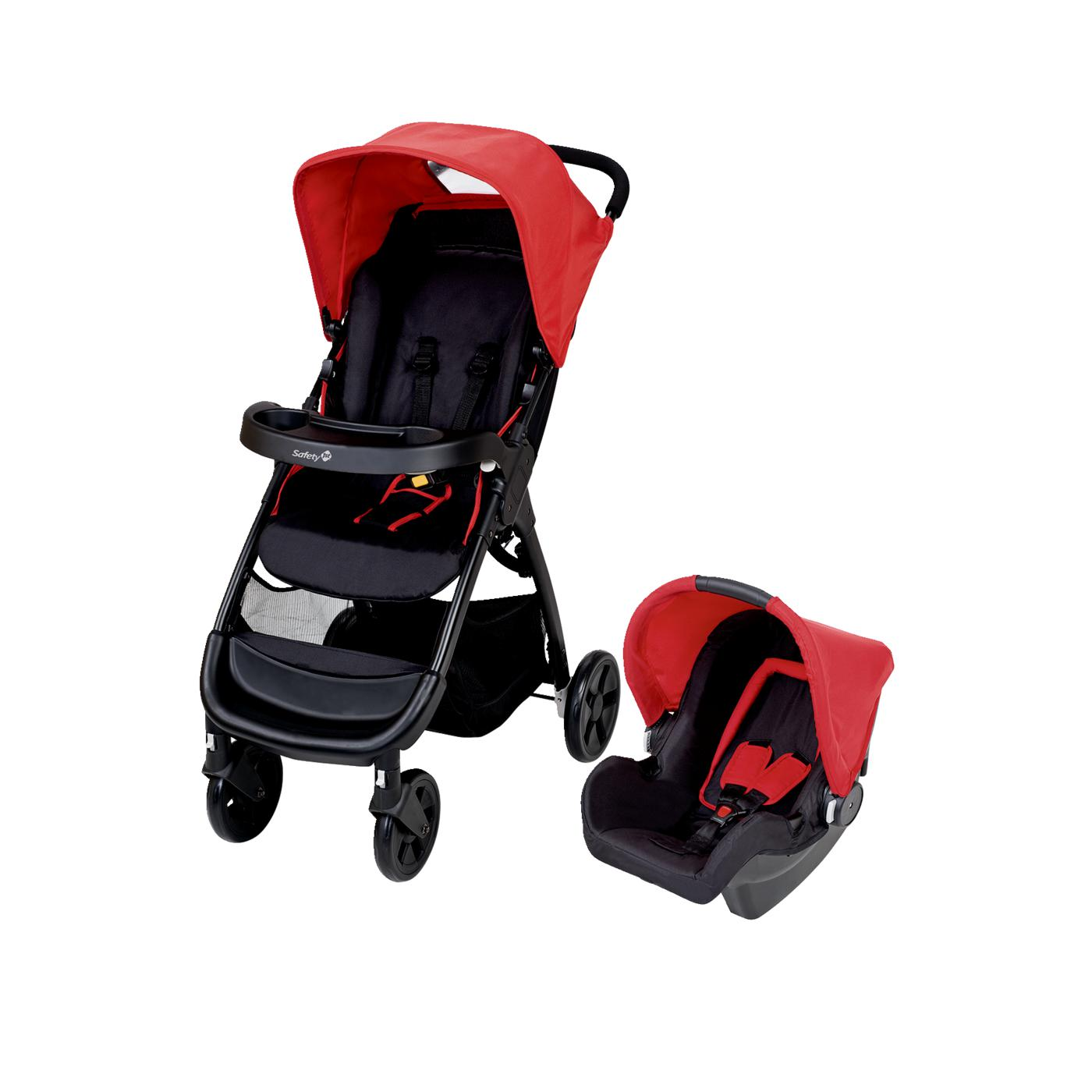 safety 1st buggy amble travelsystem plain red online g nstig kaufen. Black Bedroom Furniture Sets. Home Design Ideas