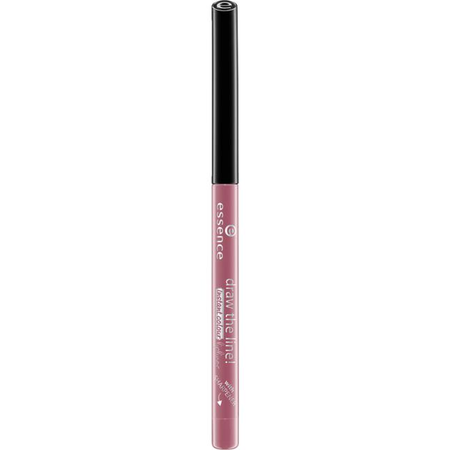 essence draw the line! instant colour lipliner 08