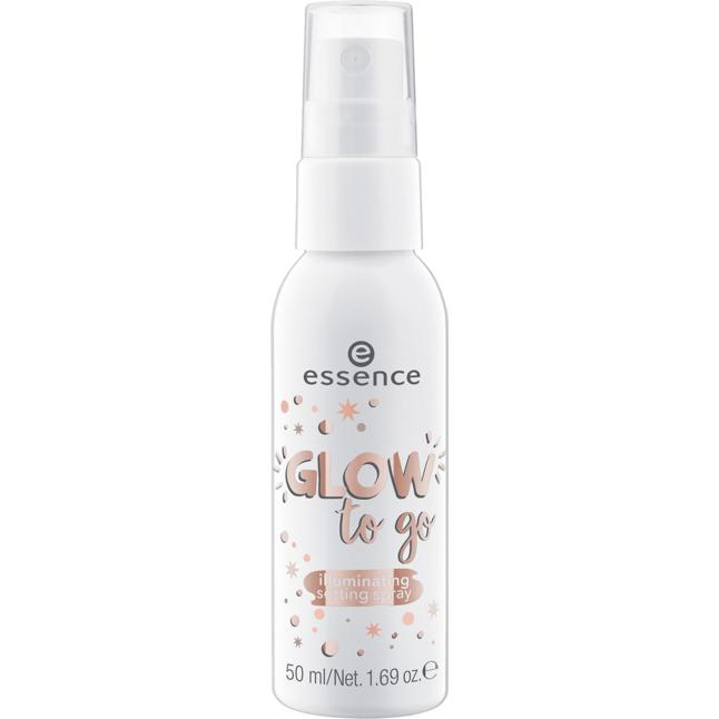 essence glow to go illuminating setting spray 5.90 EUR/100 ml