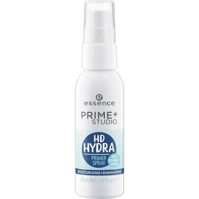 essence prime + studio hd hydra primer spray