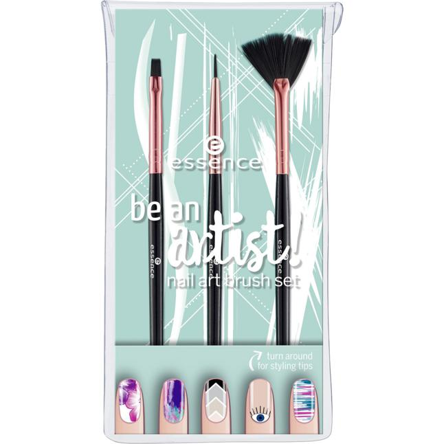essence be an artist! nail art brush set