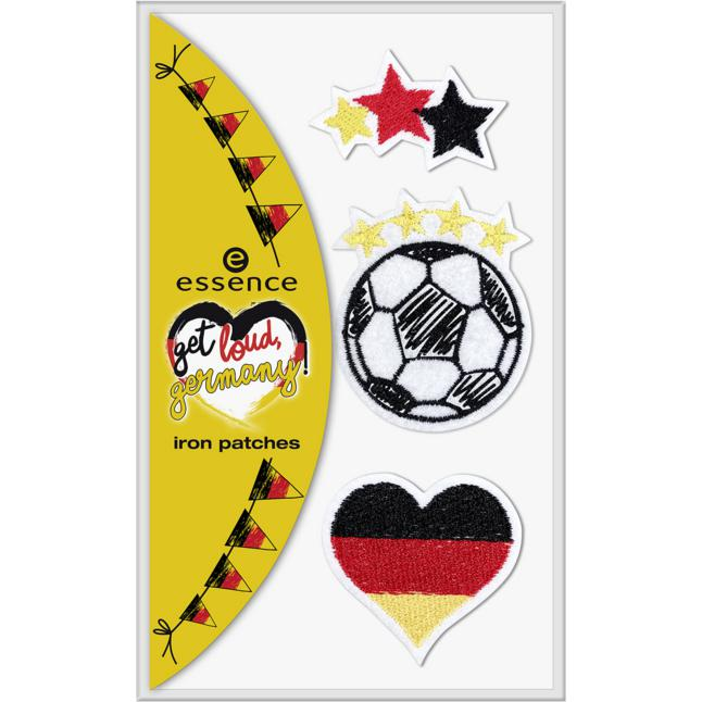 essence get loud, germany! iron patches