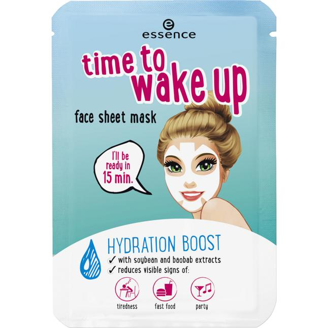 essence time to wake up face sheet mask 01