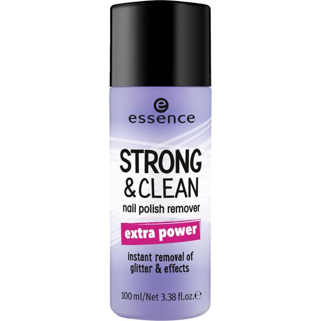 essence strong & clean nail polish remover 02