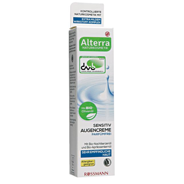 Alterra Sensitiv Augencreme Parfümfrei 26.60 EUR/100 ml