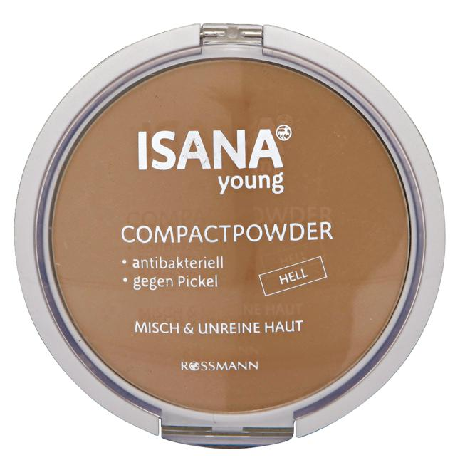 ISANA Young Compact Powder hell 22.11 EUR/100 g