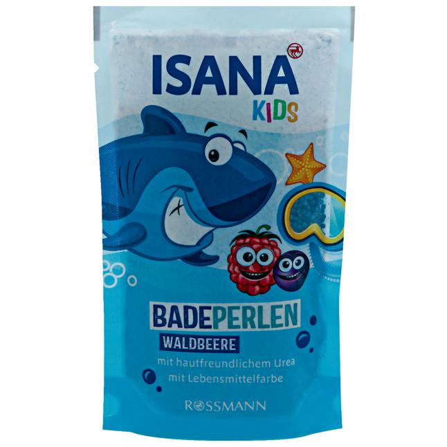 ISANA Kids Badeperlen Waldbeere 1.24 EUR/100 g