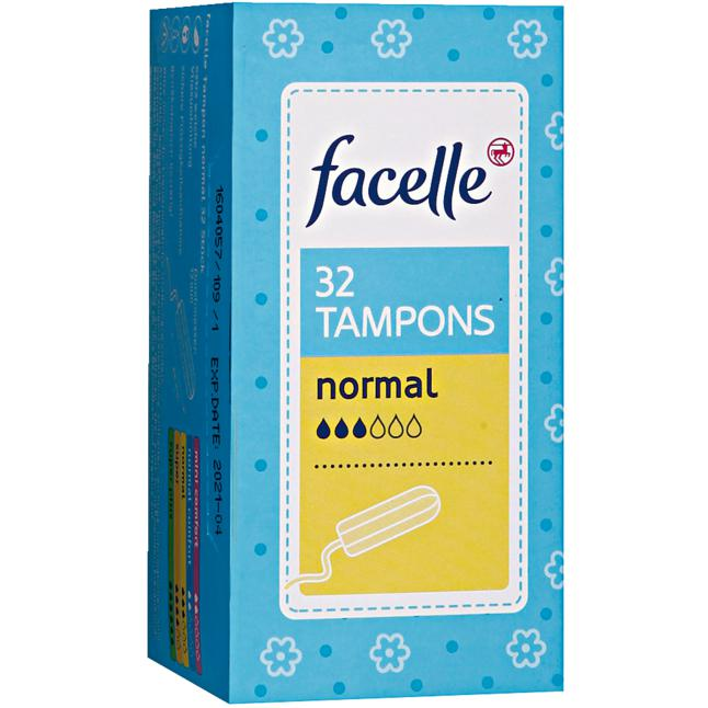 facelle Tampons normal