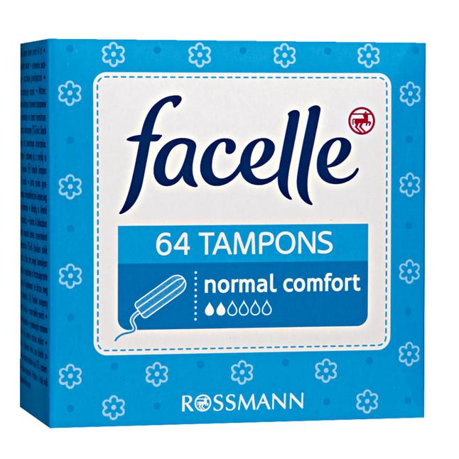 facelle Tampons normal comfort