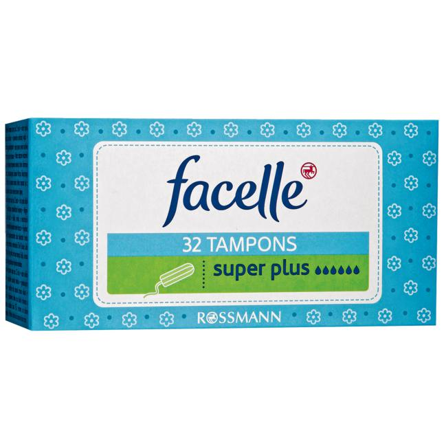 facelle Tampons super plus