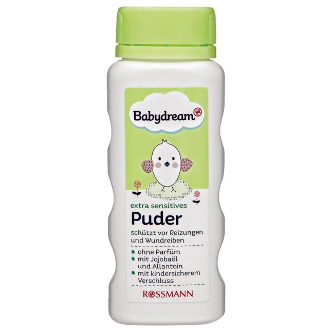 Babydream · Babydream extra sensitives Puder