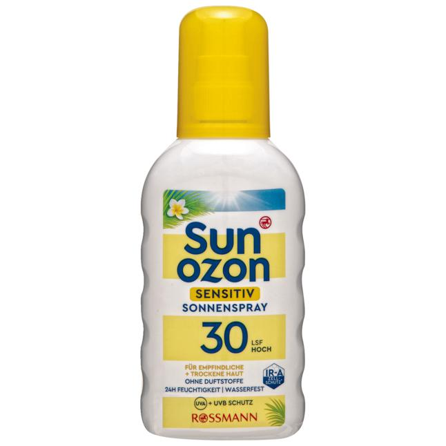 sunozon Sensitiv Sonnenspray LSF 30 2.00 EUR/100 ml