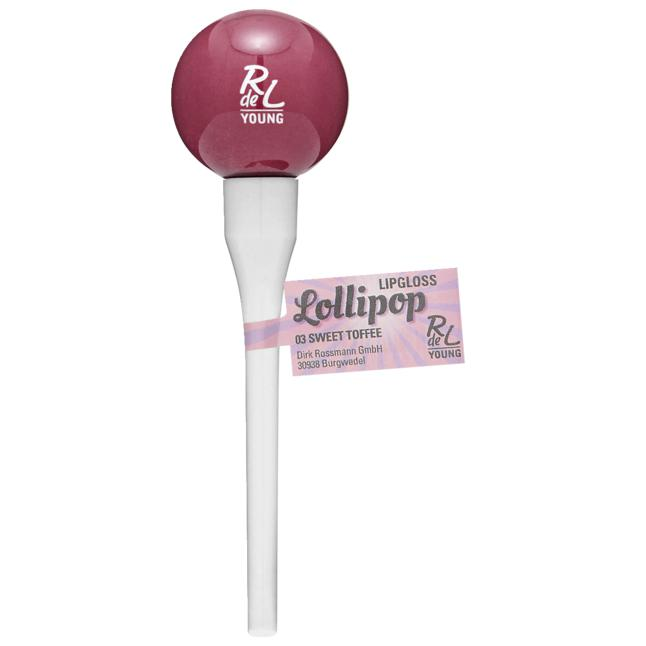RdeL Young Lollipop Lipgloss 03 sweet toffee