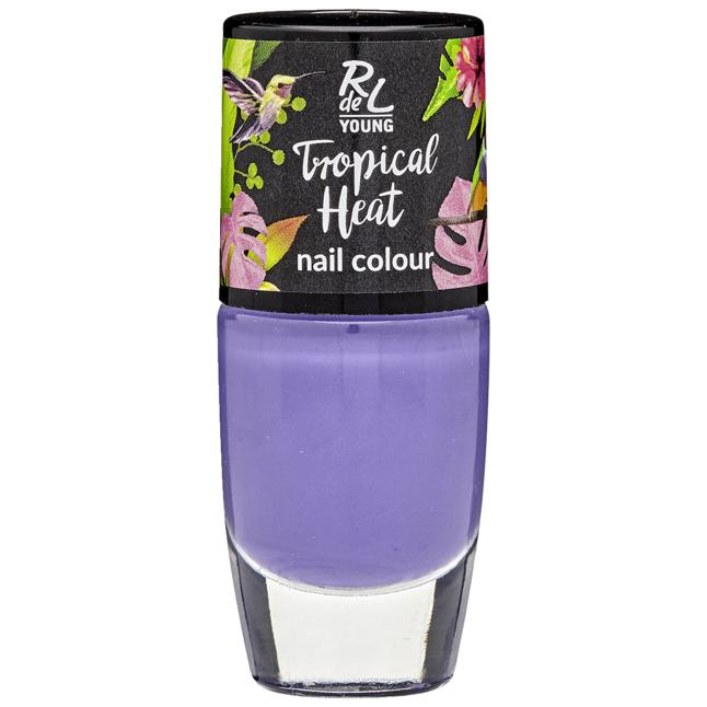RdeL Young Tropical Heat Nail Colour 02 cool orchid