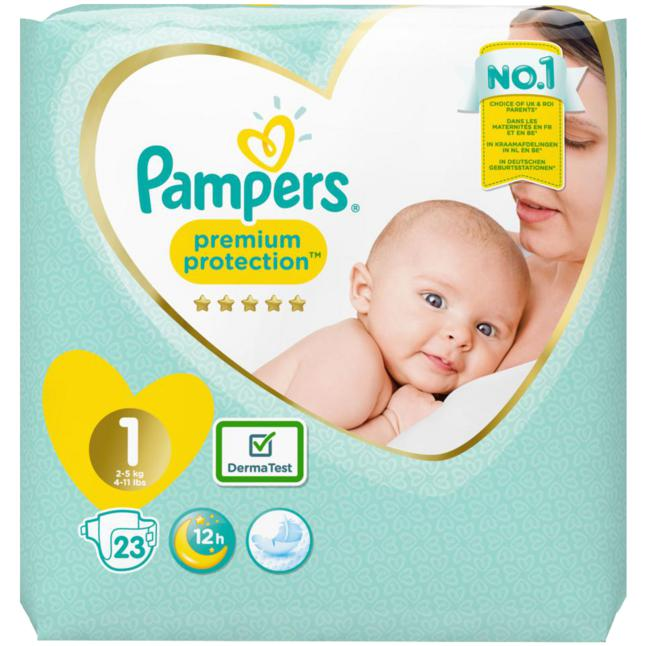 Pampers · Pampers Windeln Premium Protection, Größe 1 New Baby