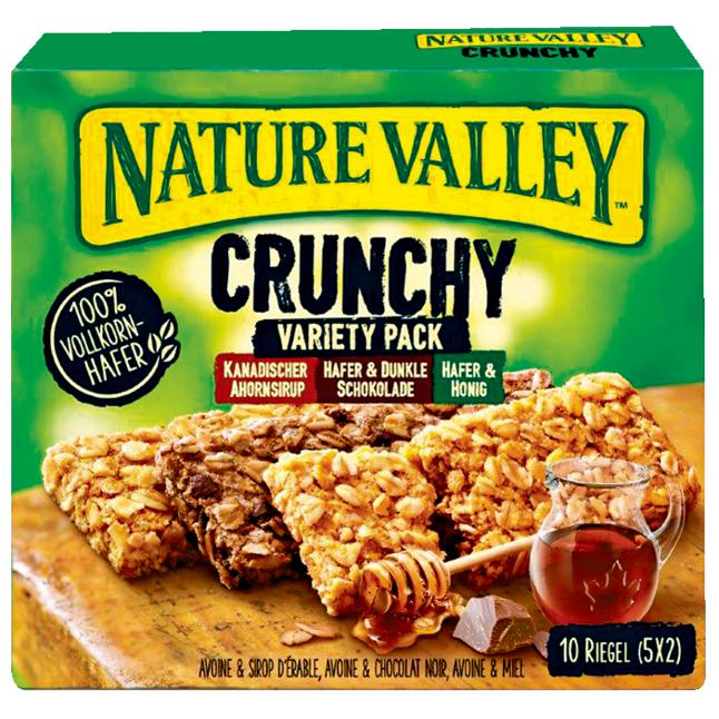 Nature Valley Crunchy Müsliriegel Variety Pack 0.95 EUR/100 g