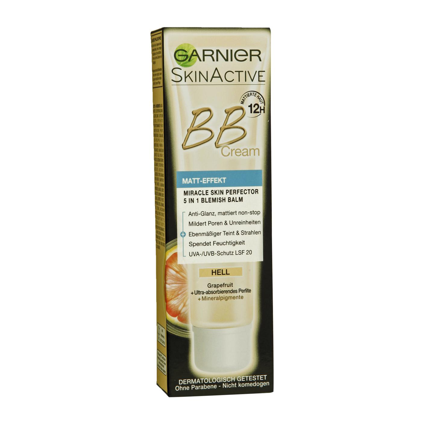 Garnier Skinactive Bb Cream Matt Effekt Miracle Skin Perfector 5in1
