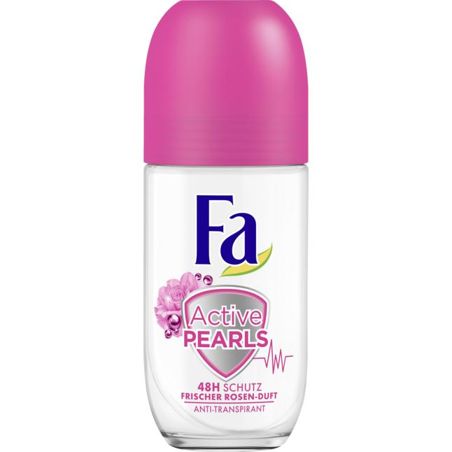 Fa Deo Roll-On Active Pearls frischer Rosen-Duft 1.76 EUR/100 ml