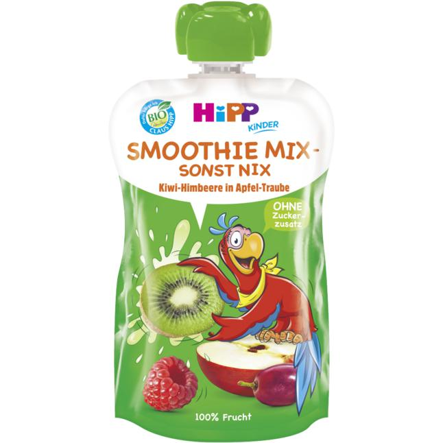 HiPP Bio Smoothie Mix - sonst nix Kiwi-Himbeere in Apf 0.83 EUR/100 ml (6 x 120.00ml)