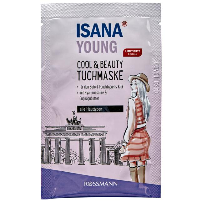 ISANA Young Cool & Beauty Tuchmaske