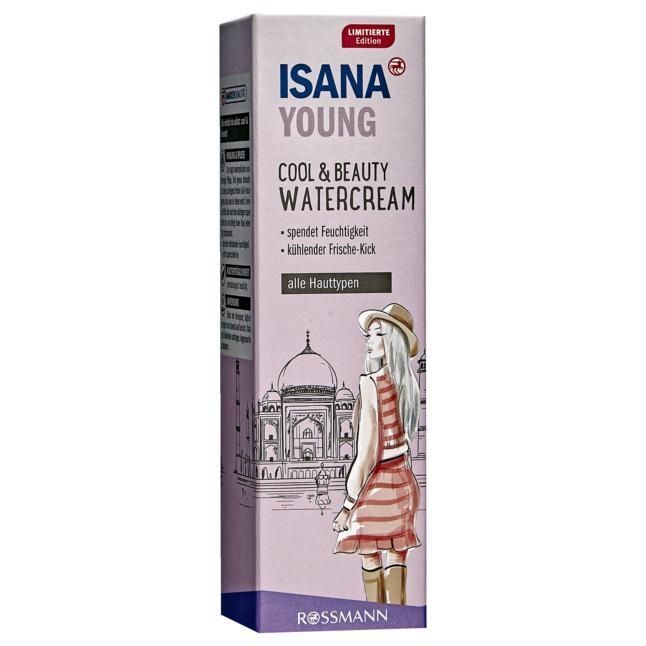 ISANA Young Cool & Beauty Watercream 3.98 EUR/100 ml