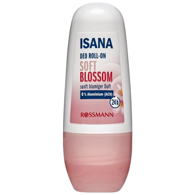 ISANA Deo Roll-On Soft Blossom 1.10 EUR/100 ml