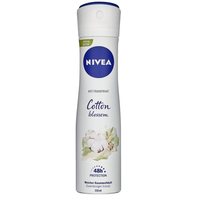 NIVEA Anti-Transpirant Cotton blossom 1.03 EUR/100 ml