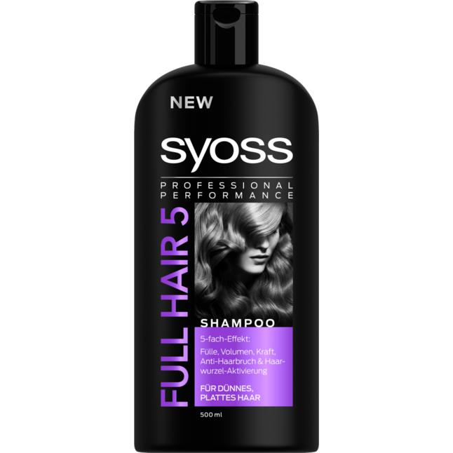 Syoss Professional Performance Full Hair 5 Shampoo 3.98 EUR/1 l