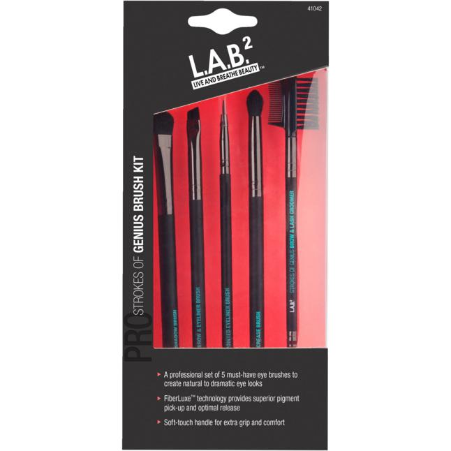 L.A.B.² Eye Brush Kit - Strokes of Genius Brush Kit