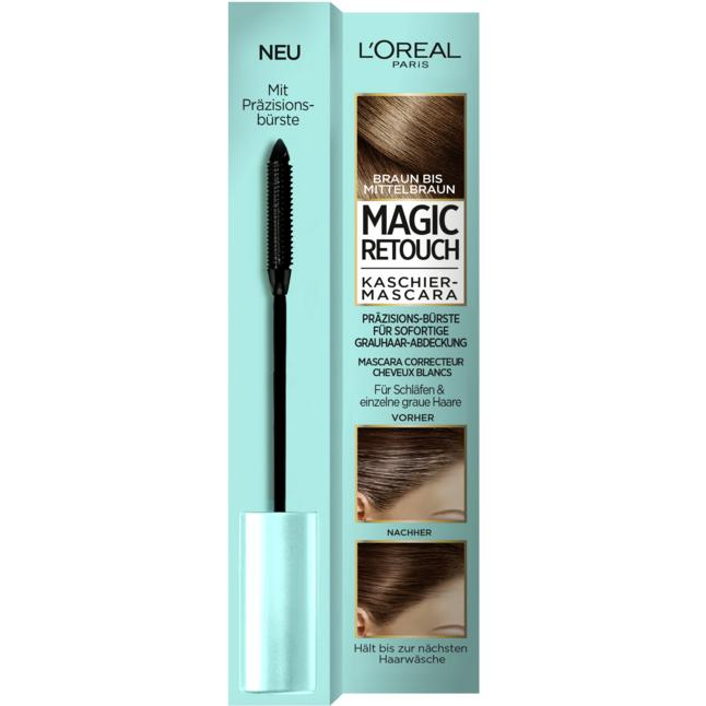 L'Oréal Paris Magic Retouch Kaschier-Mascara braun bis mittelbraun