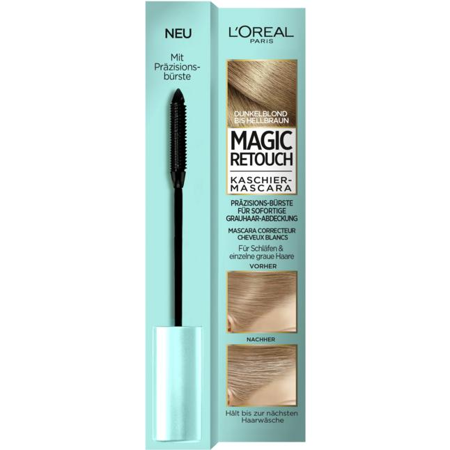 L'Oréal Paris Magic Retouch Kaschier-Mascara dunkelblond bis hellbraun