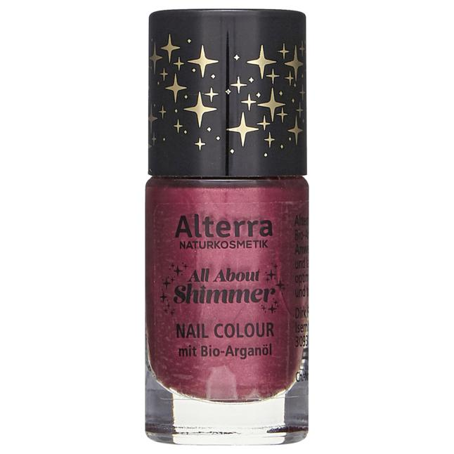 Alterra All About Shimmer Nagellack - 01 All About Red