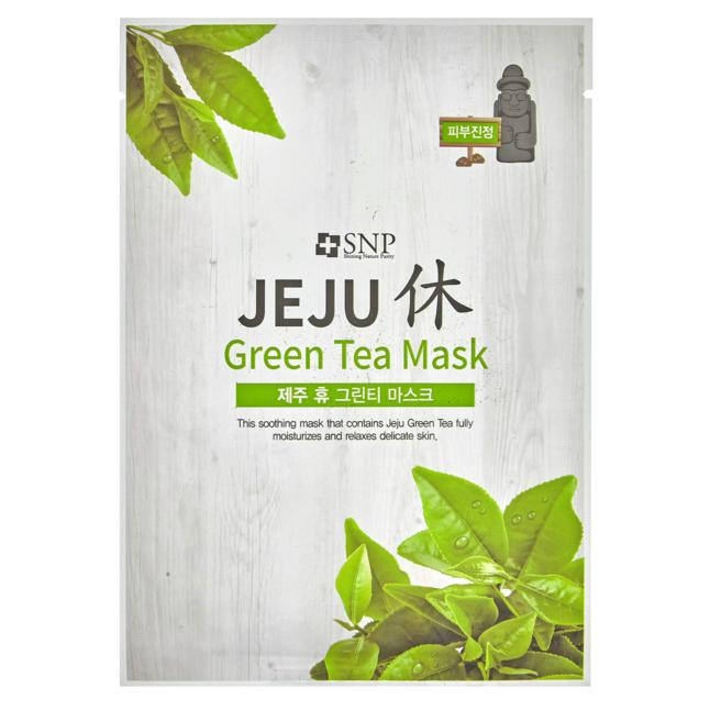 SNP Jeju Green Tea Mask 7.68 EUR/100 ml