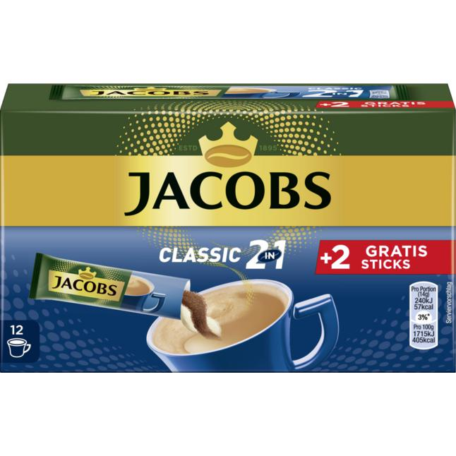 Jacobs Classic 2in1 Sticks 1.01 EUR/100 g