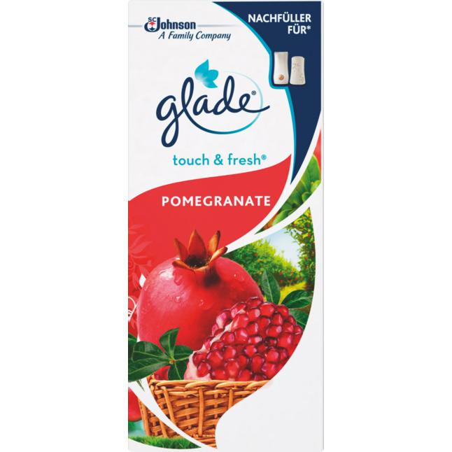 Glade Touch & Fresh Minispray Nachfüller Pomegranate 18.90 EUR/100 ml