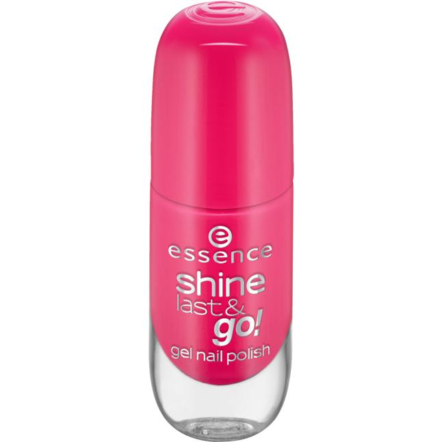 essence shine last & go! gel nail polish 13 legally pink