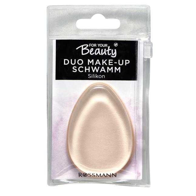 for your Beauty Duo Make-up Schwamm aus Silikon