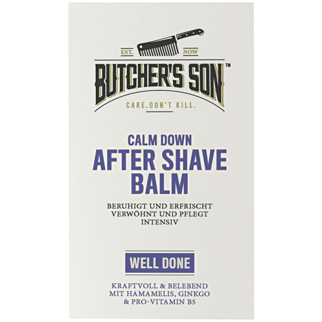 Butcher's Son Calm Down After Shave Balm Well Done 3.33 EUR/100 ml