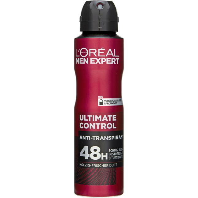 L'Oréal Paris Men Expert Anti-Transpirant Spray Ultima 1.33 EUR/100 ml