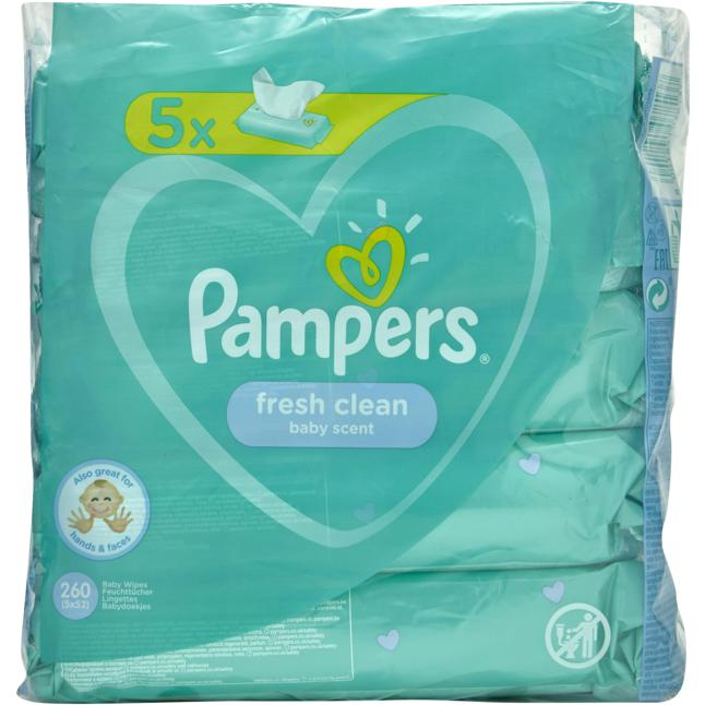 Pampers · Pampers Feuchttücher fresh clean
