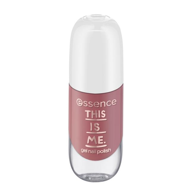 essence this is me. gel nail polish 06 real
