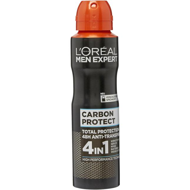 L'Oréal Paris Men Expert Anti-Transpirant Spray Carbon 1.33 EUR/100 ml